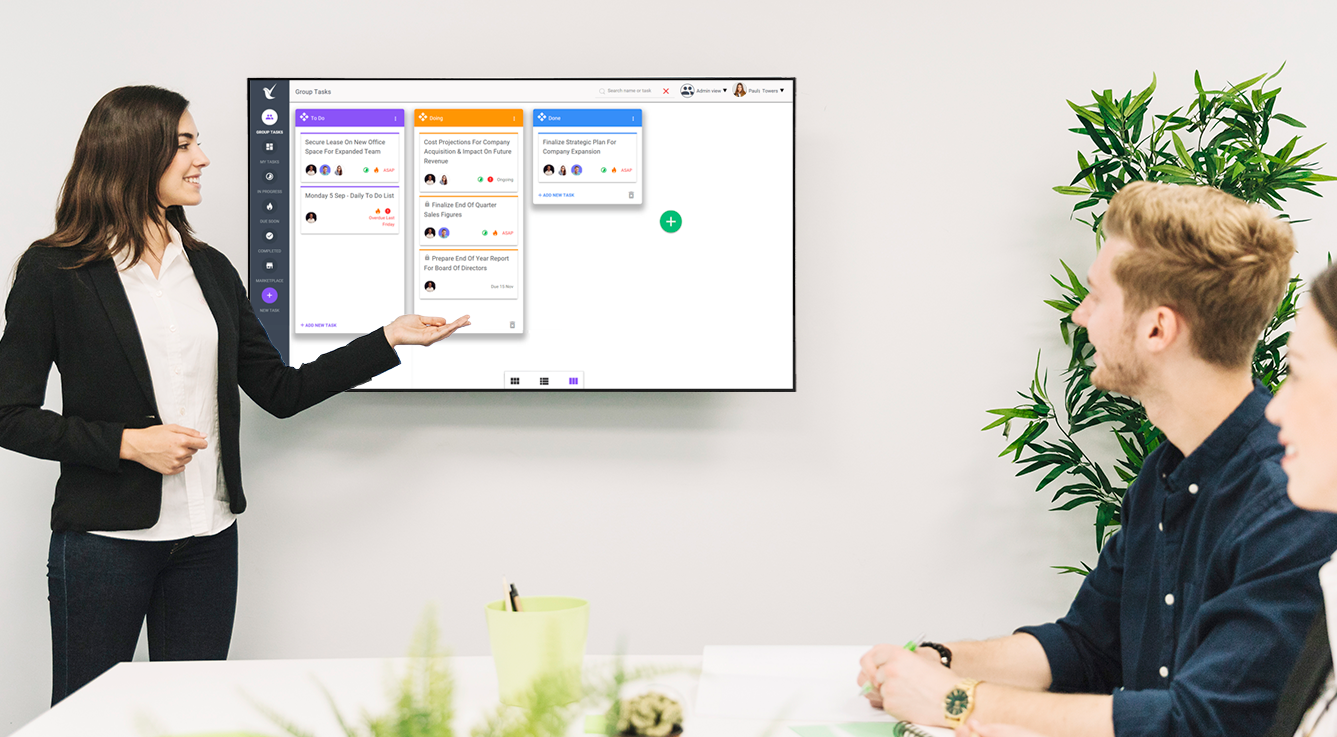 Star your meetings with TILE