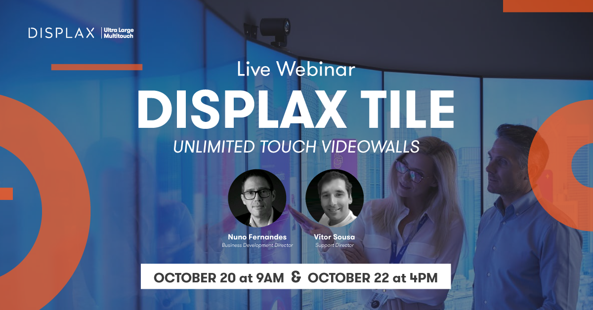 DISPLAX TILE Webinar | Build Unlimited Touch Video Walls