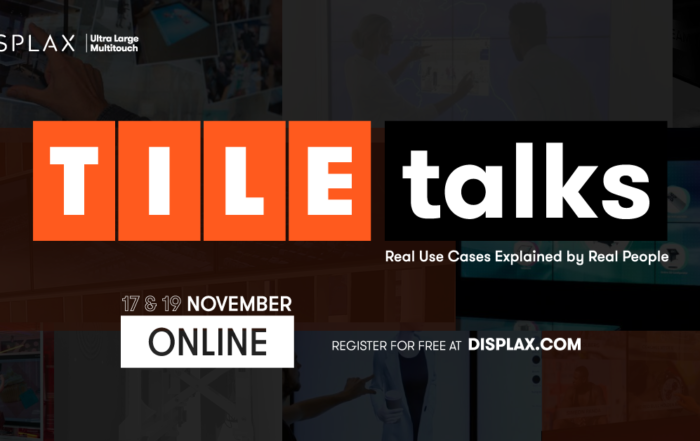 TILE Talks by DISPLAX