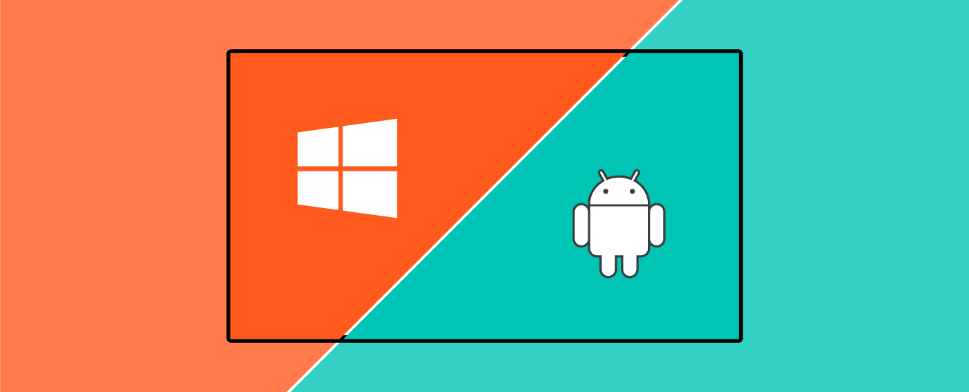 Dual OS by default - Windows & Android